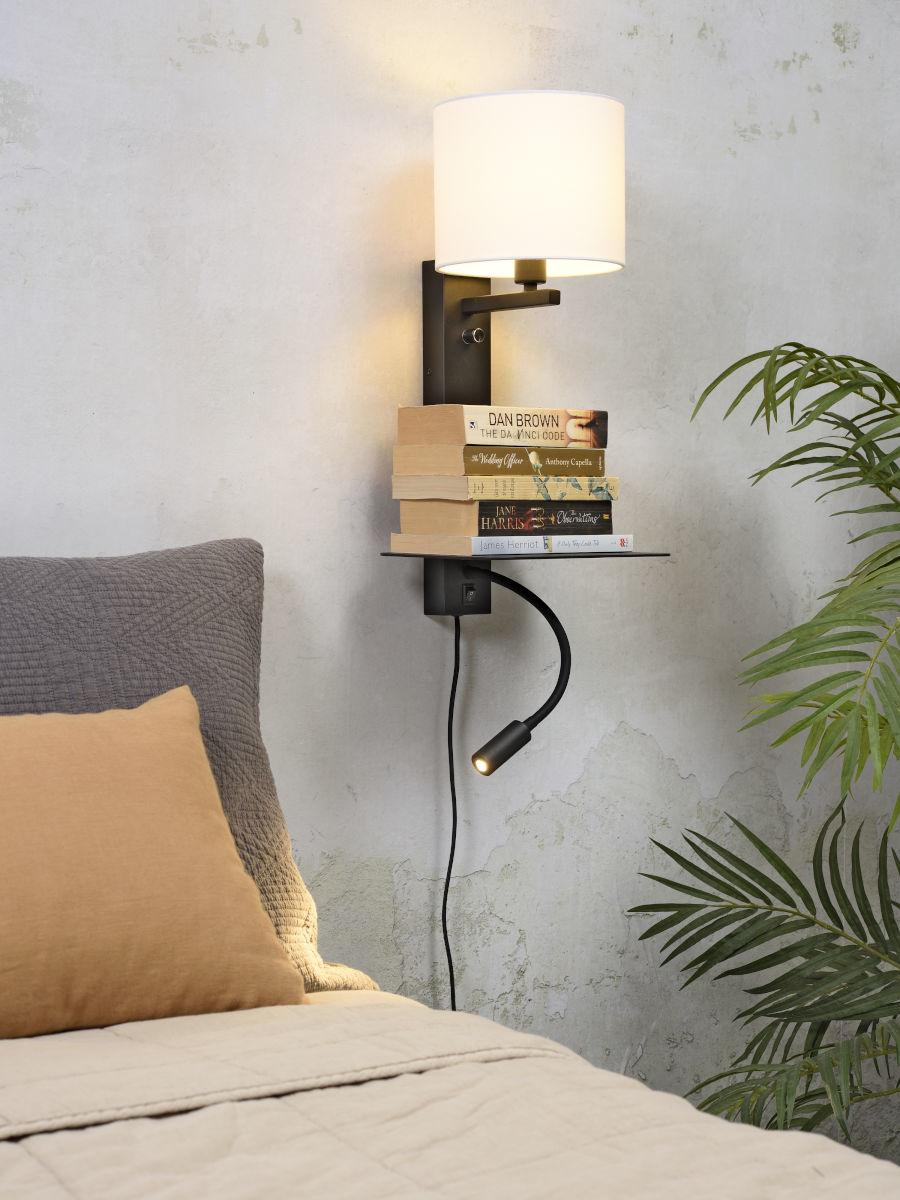 Wandlamp Florence 1815 black light-2