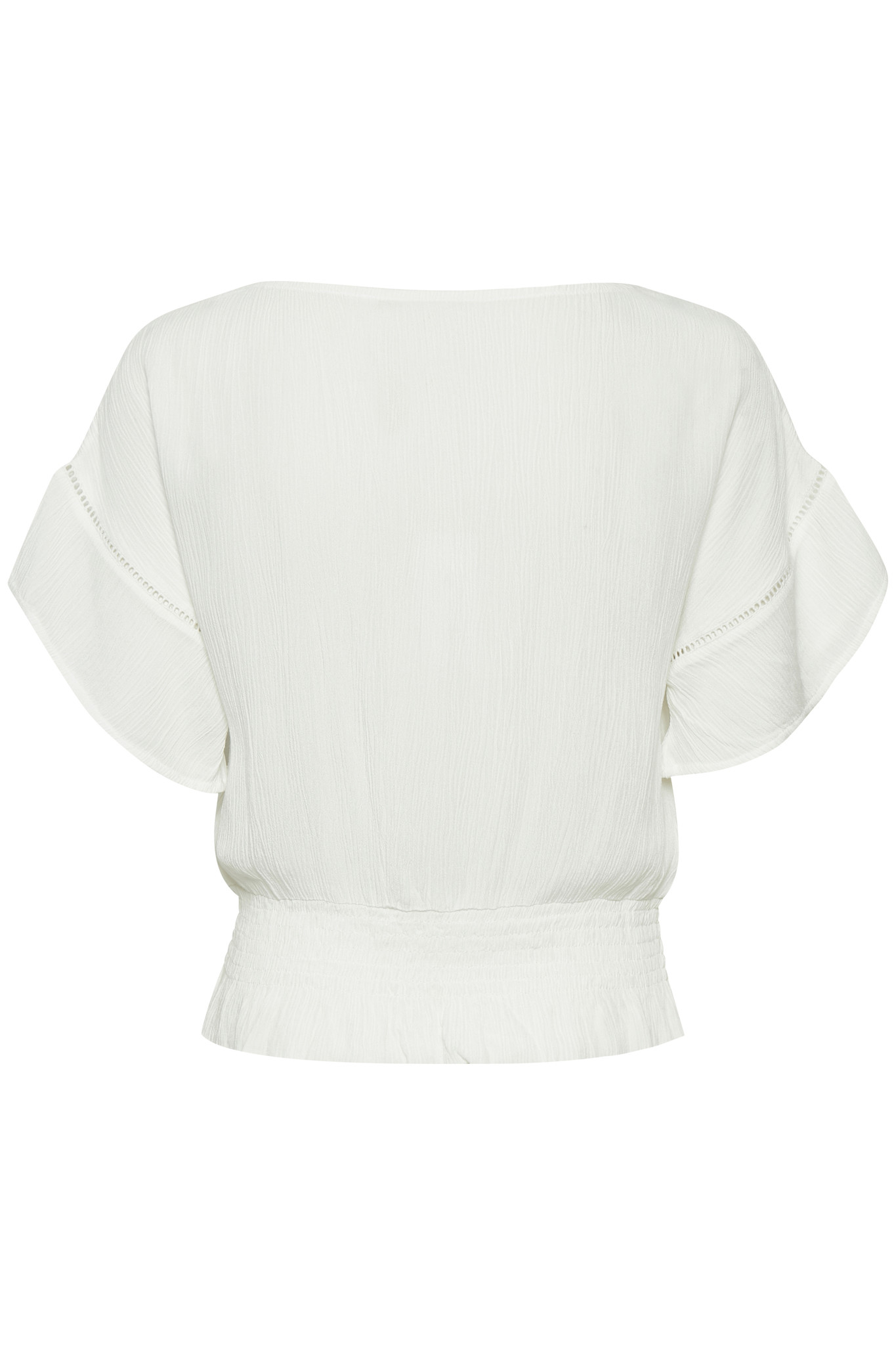 Blouse AnnyCR Blouse EcoVero Chalk Solid-2