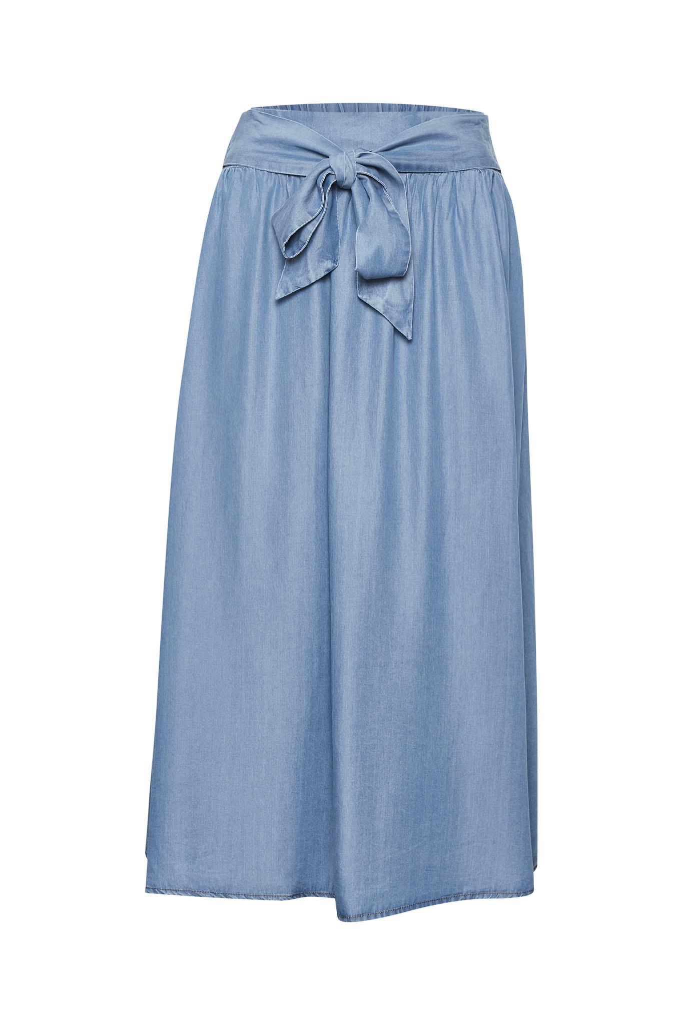 Rok EsterCR Skirt Denim Blue-1