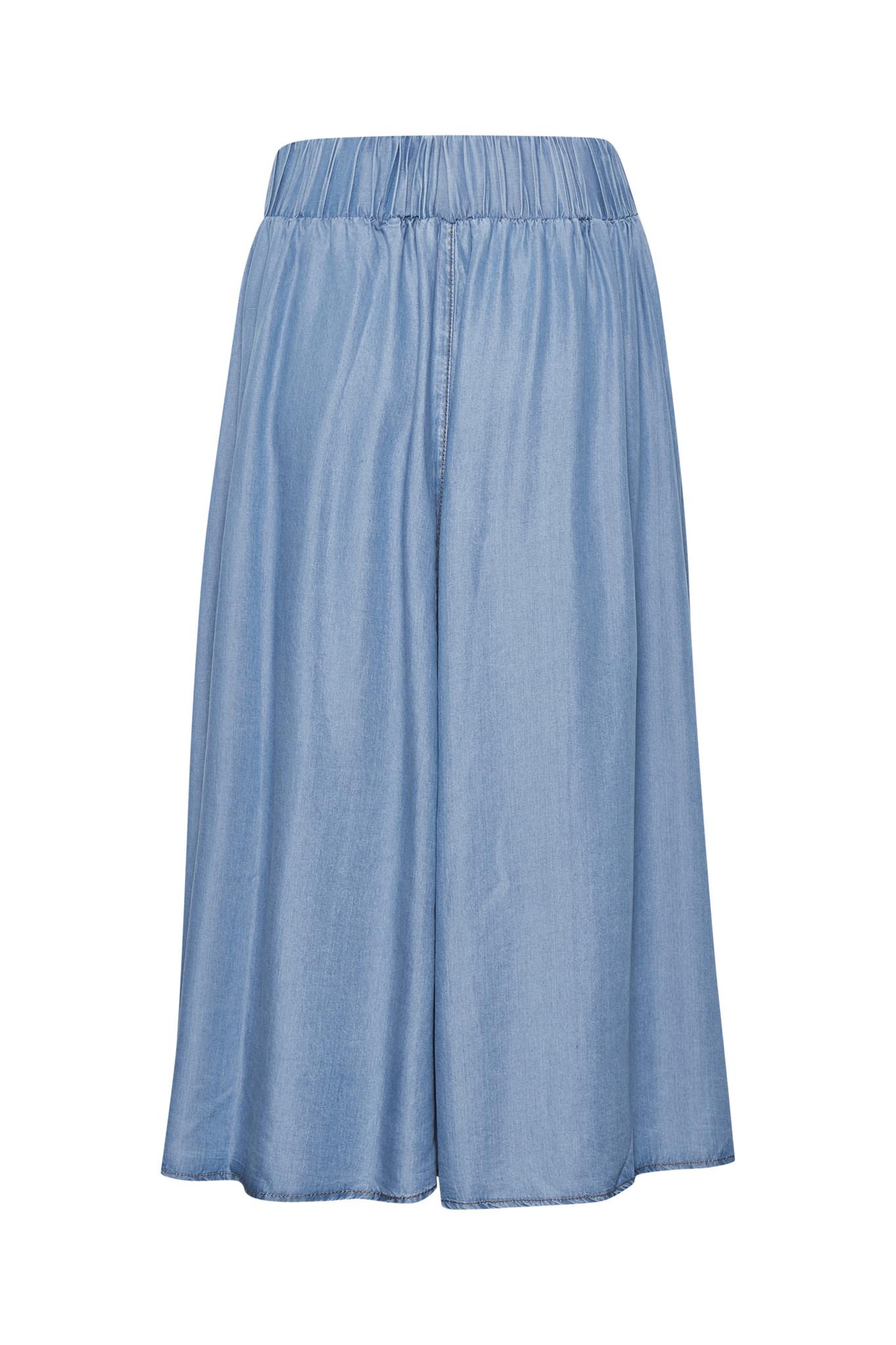 Rok EsterCR Skirt Denim Blue-5