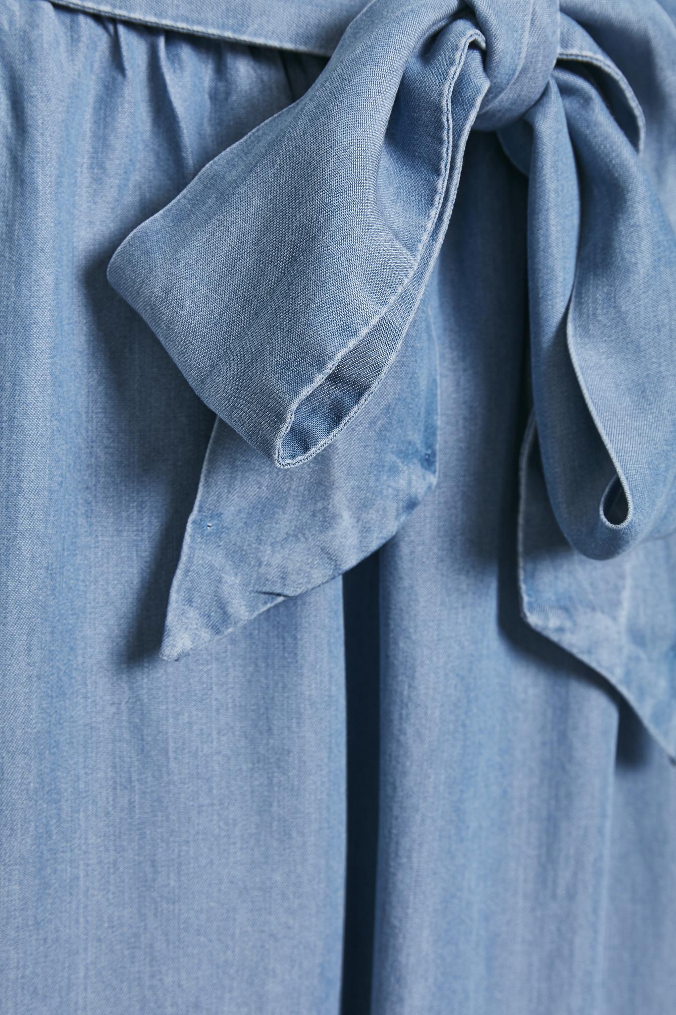 Rok EsterCR Skirt Denim Blue-4