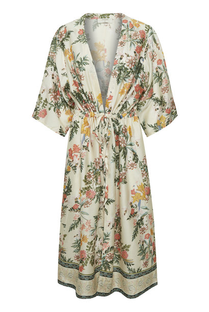 Vest JeanetteCR Kimono Whisper Pink