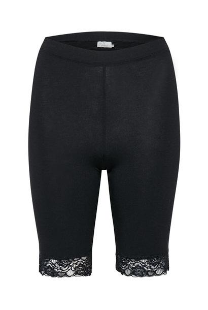 Broek KAsvala Jersey Shorts Black Deep