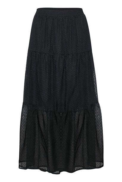 Rok KAsammy Maxi Skirt Black Deep