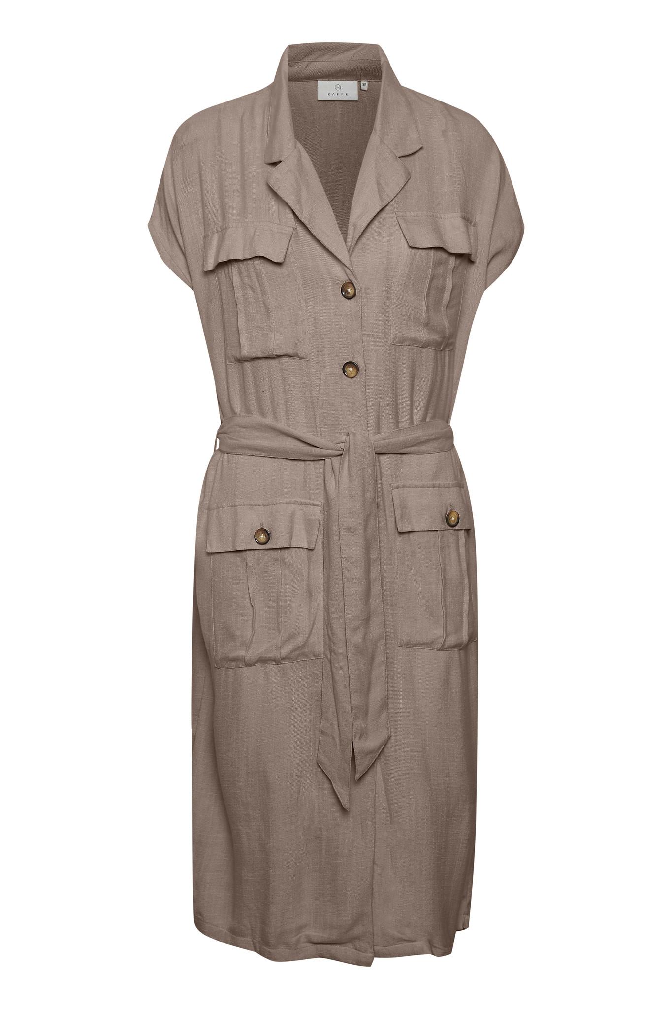 Jurk KAida Shirt Dress Ermine-1