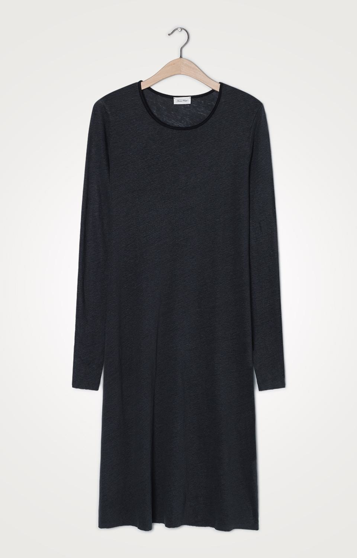 Tshirt jurk Lolosister Antraciet-1
