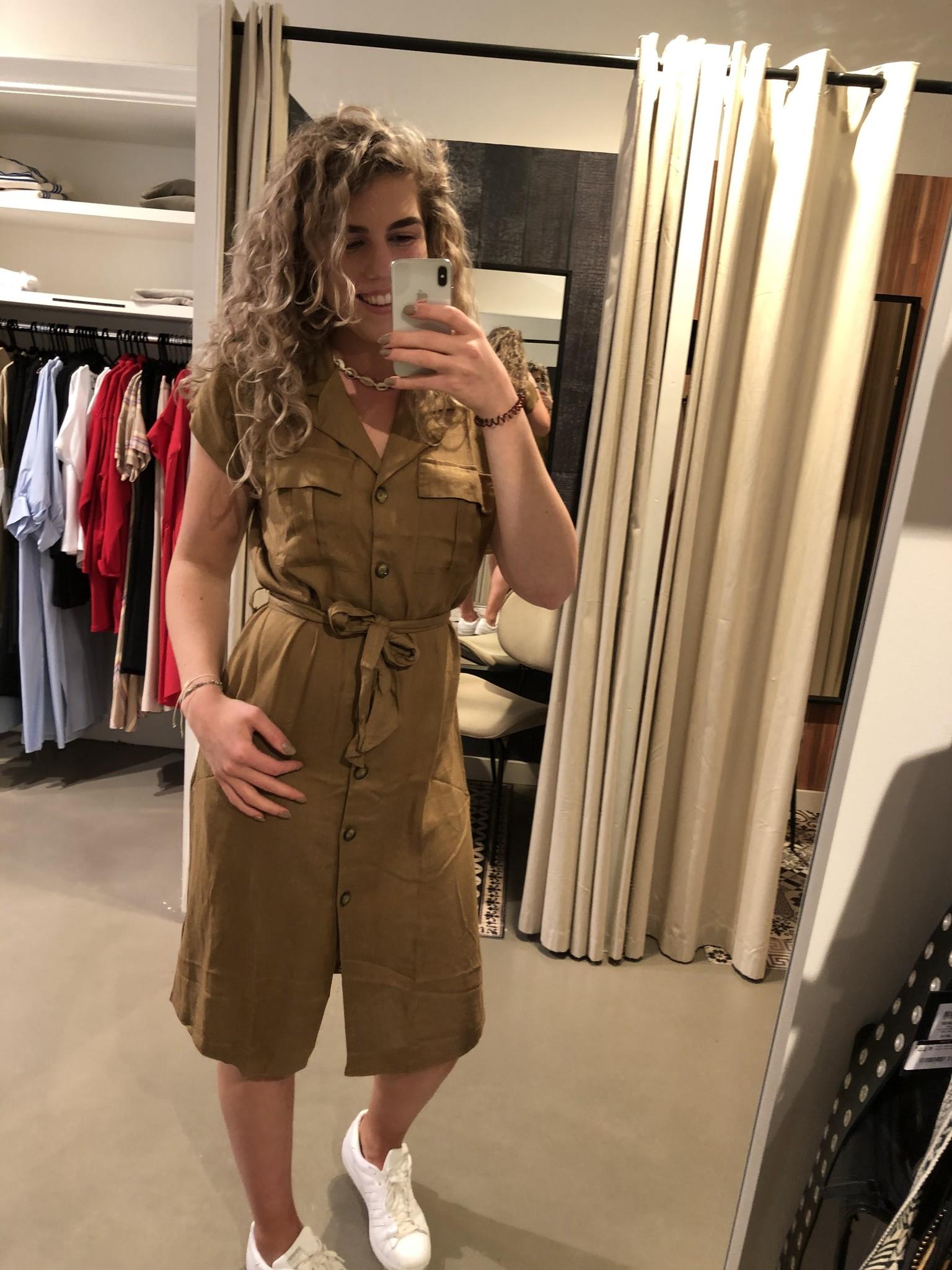 Jurk KAida Shirt Dress Ermine-2