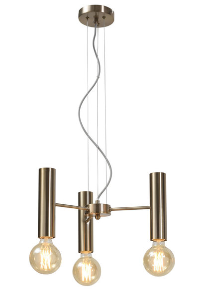 Hanglamp Cannes Chandelier gold S