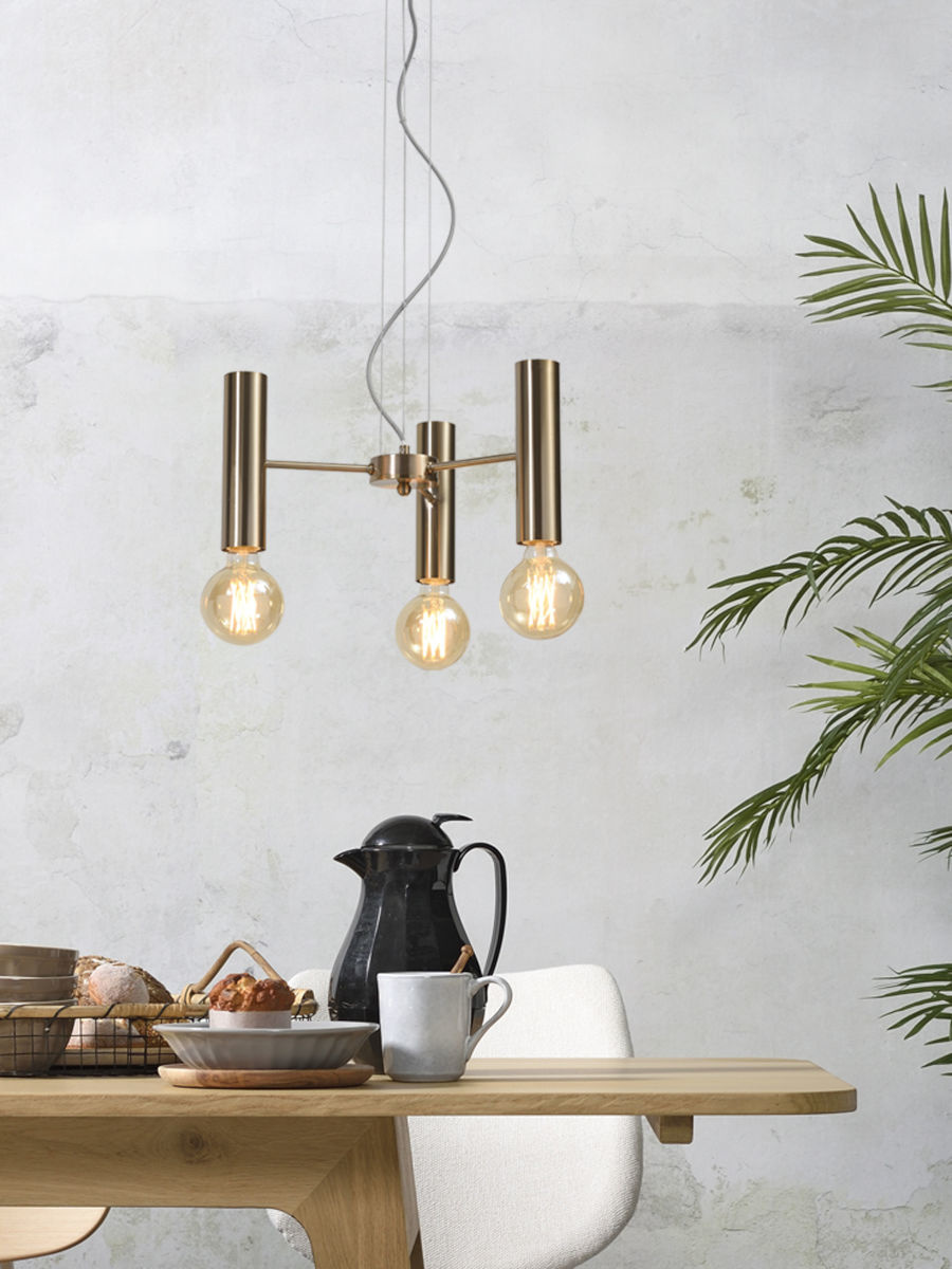 Hanglamp Cannes Chandelier gold S-2