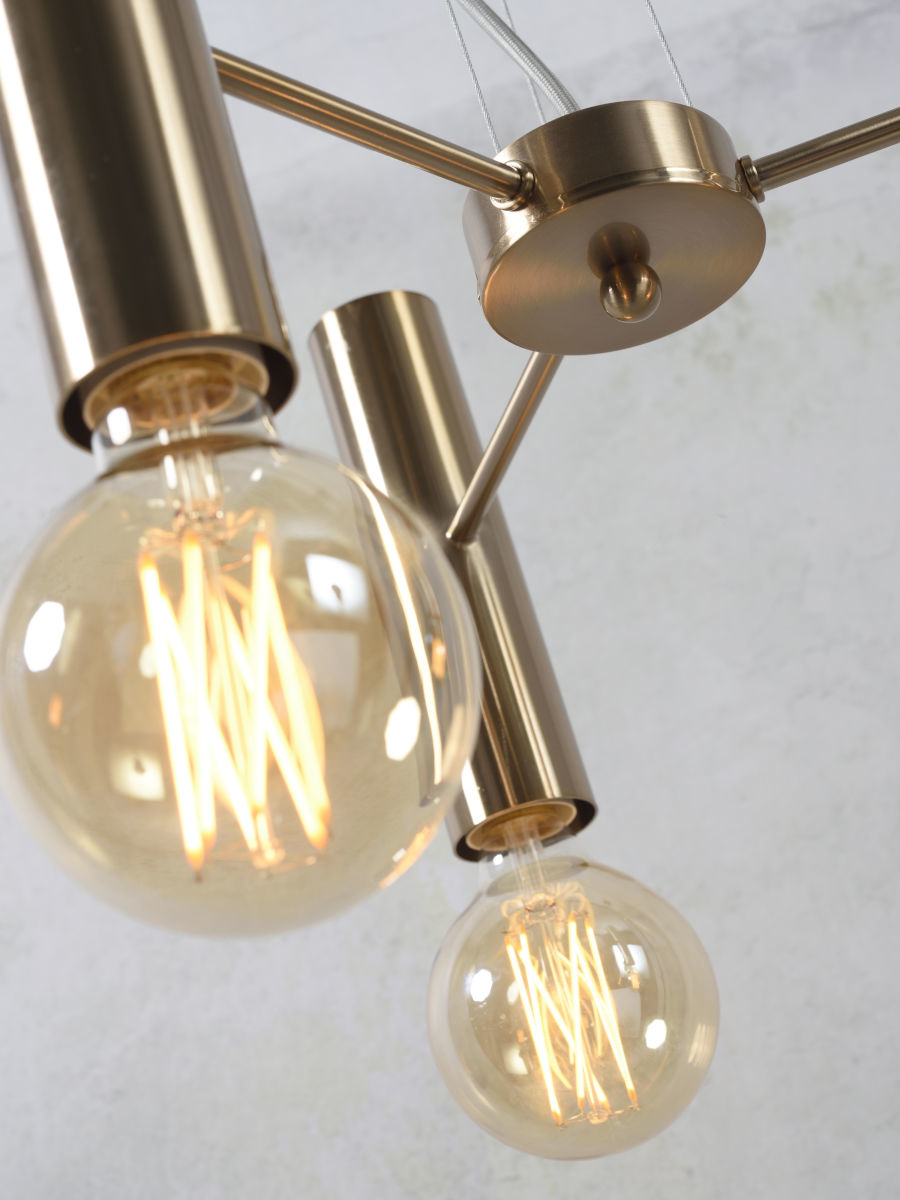 Hanglamp Cannes Chandelier gold S-4