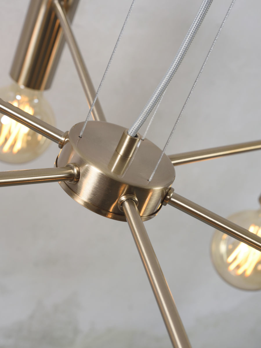 Hanglamp Cannes Chandelier gold L-3
