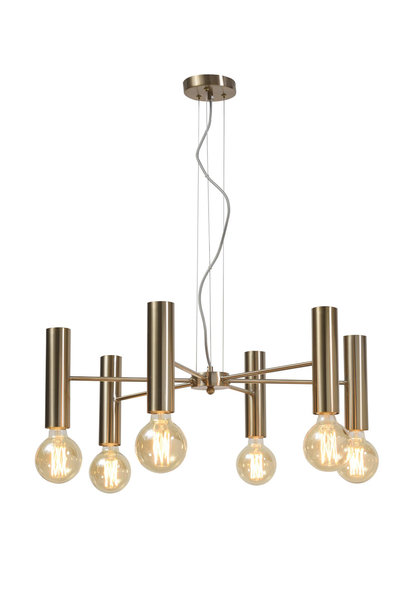 Hanglamp Cannes Chandelier gold L
