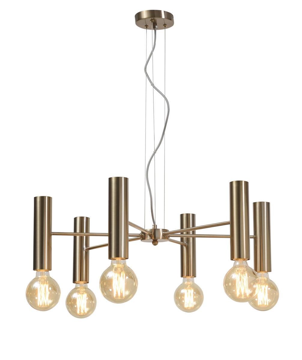 Hanglamp Cannes Chandelier gold L-1
