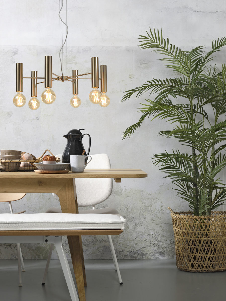 Hanglamp Cannes Chandelier gold L-2
