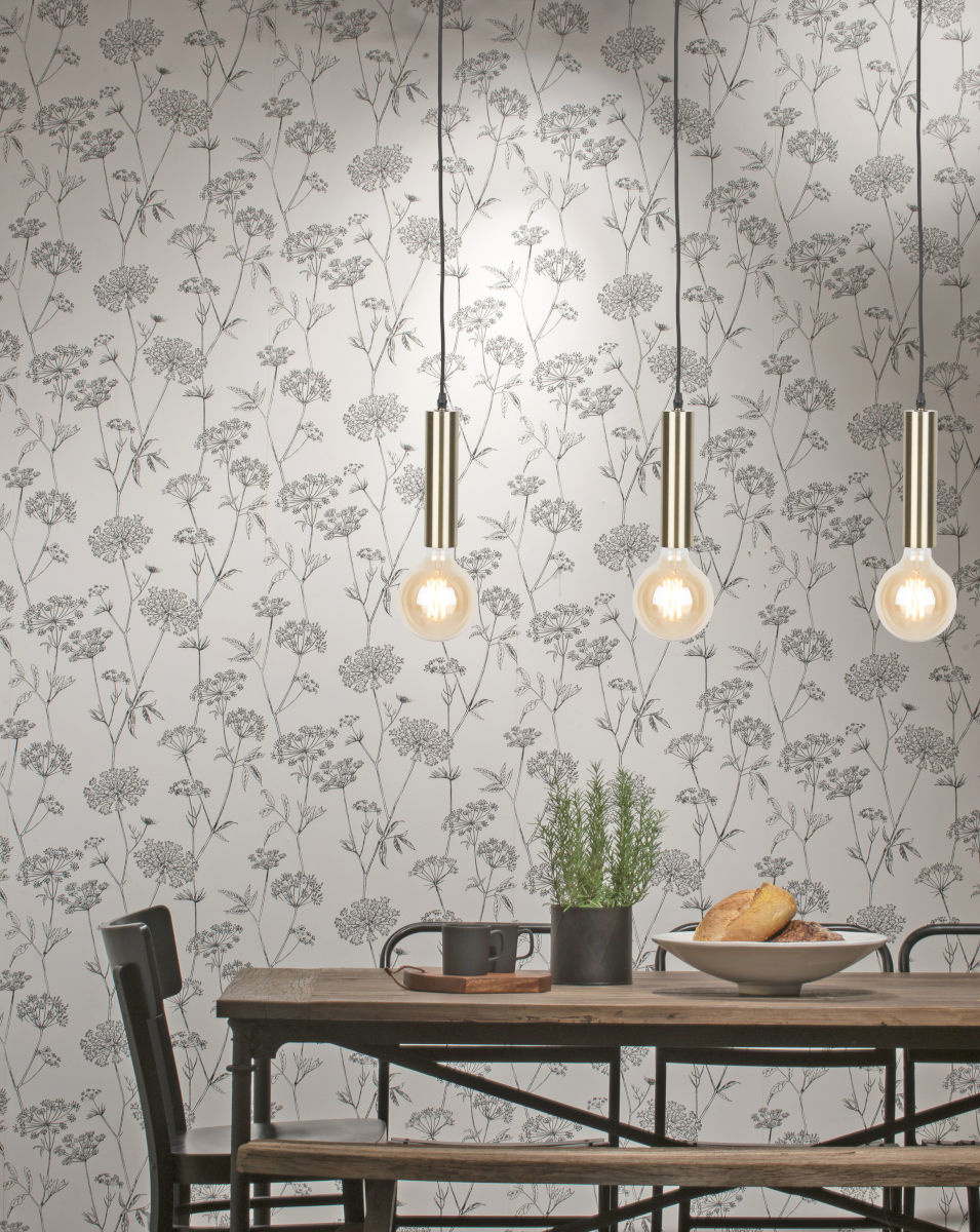 Hanglamp Cannes gold L-4