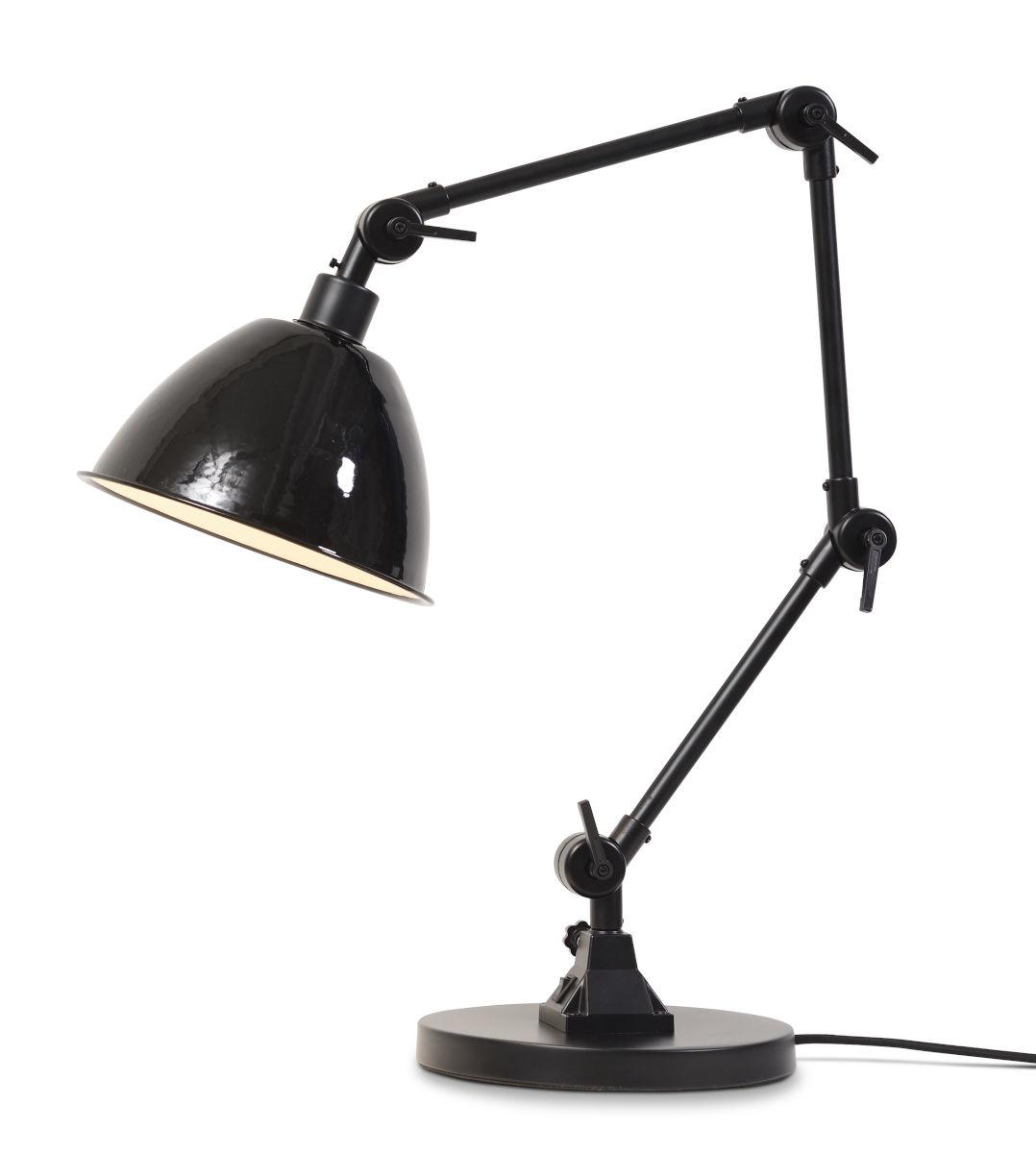 Tafellamp Amsterdam enamel shade clear-1