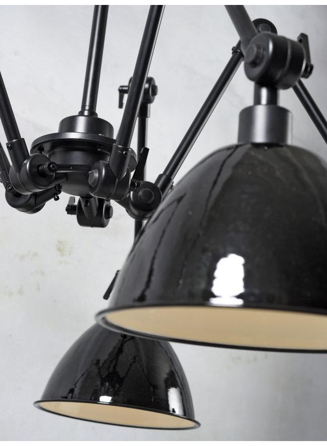 Hanglamp Amsterdam enamel shade clear