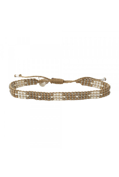 Armband Summerlight Smokey Quartz Silver