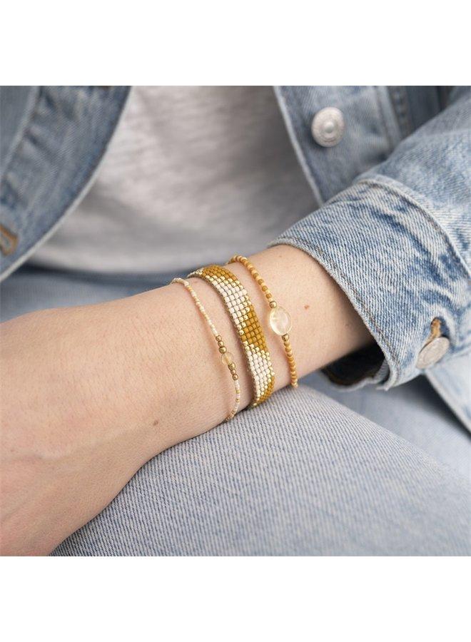 Armband Summer Citrine Gold