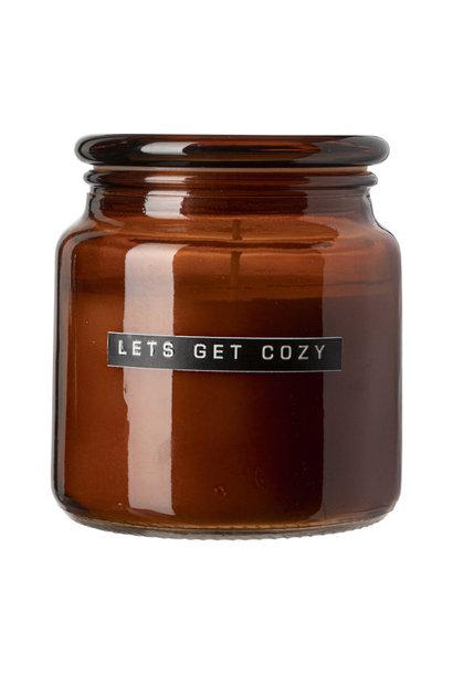 Pot Geurkaars Bruin Let's get Cozy