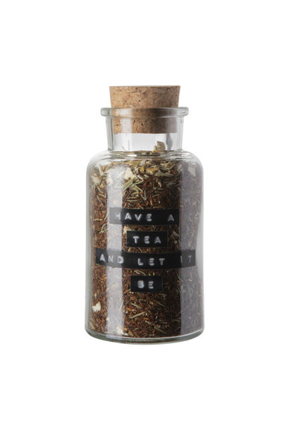 Losse thee apothekerspot 'Have a tea and let it be'
