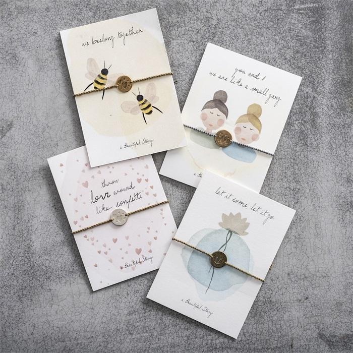 Armband Postcards Bees-2