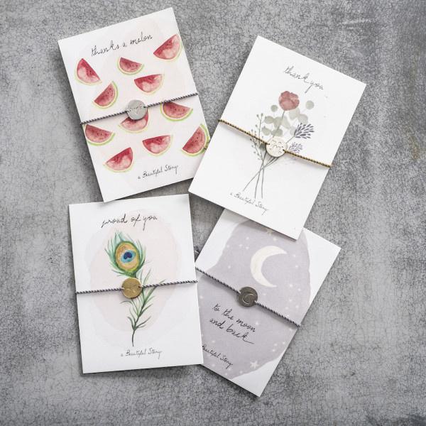 Armband Postcard Flowers-2