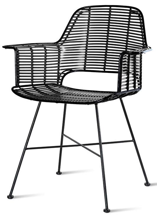 Stoel outdoor tub chair black-1