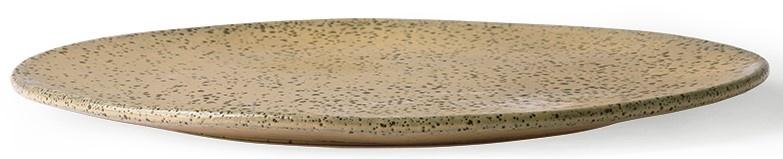 Bord gradient ceramics: dinner plate  peach-3