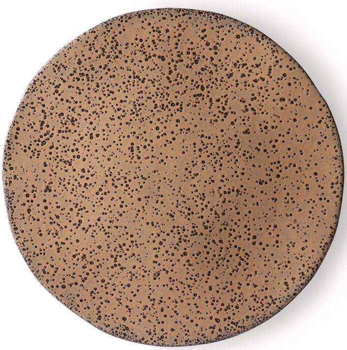 Bord gradient ceramics dinner plate  taupe-1