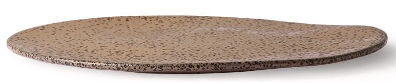 Bord gradient ceramics dinner plate  taupe-3