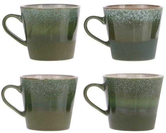 Mok ceramic 70's cappuccino Grass-5