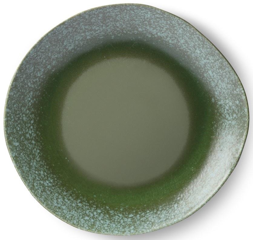 Bord ceramic 70's dinner Grass-1