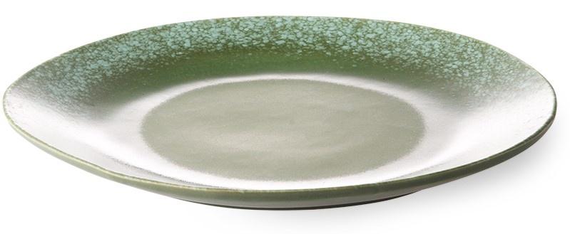 Bord ceramic 70's dinner Grass-3