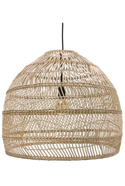 Lamp Wicker ball M Natural
