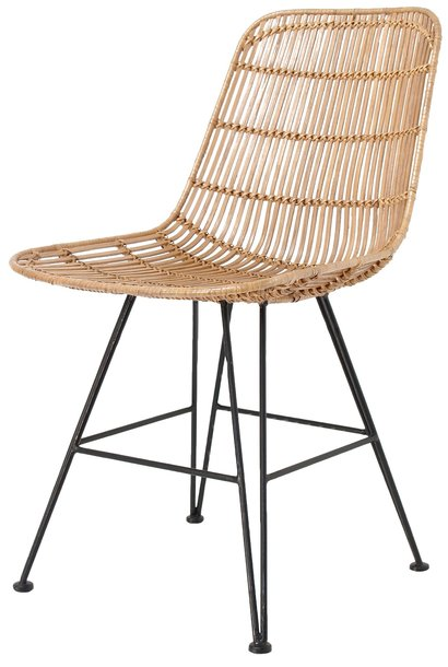 Stoel rattan dining chair natural