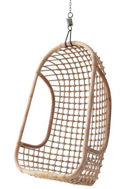 Hangstoel hanging rattan chair natural