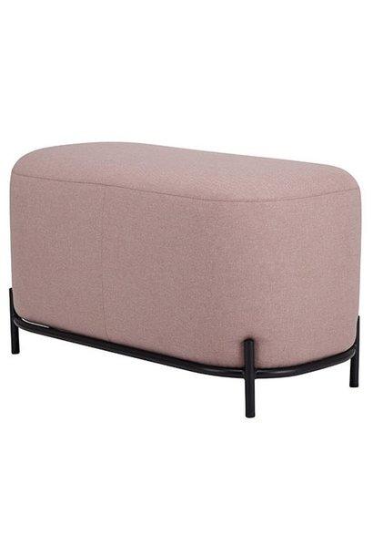 Poef 80cm old pink