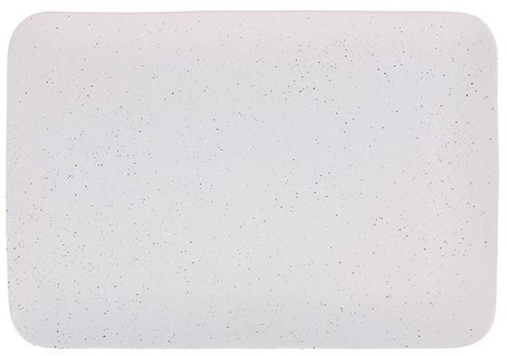 Bord ceramics speckled tray 35x24x3cm White-1