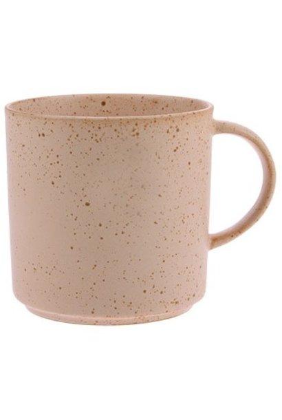 Theemok bold & basic ceramics Ø9cm Nude