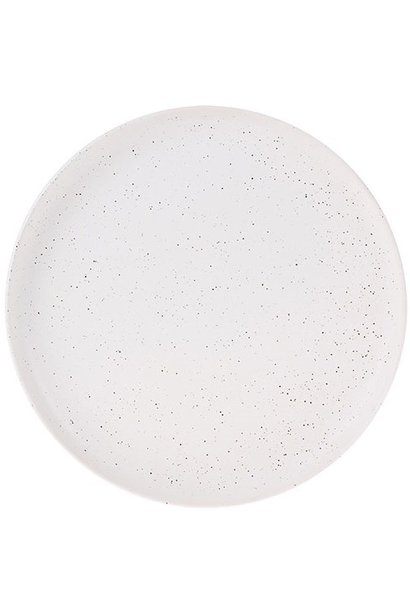 Bord ceramics Ø21cm White