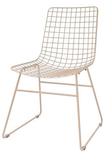 Stoel metal wire chair skin