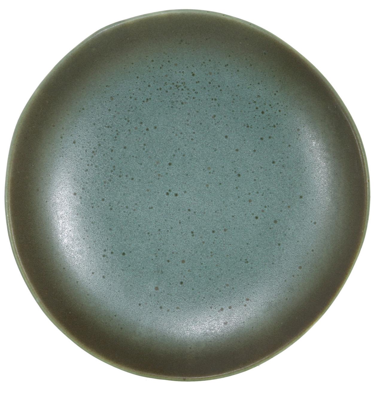 Bord dessert plate ceramic 70's moon-1
