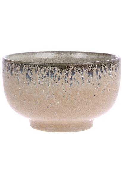 Schaal ceramic 70's Ø13cm Bark