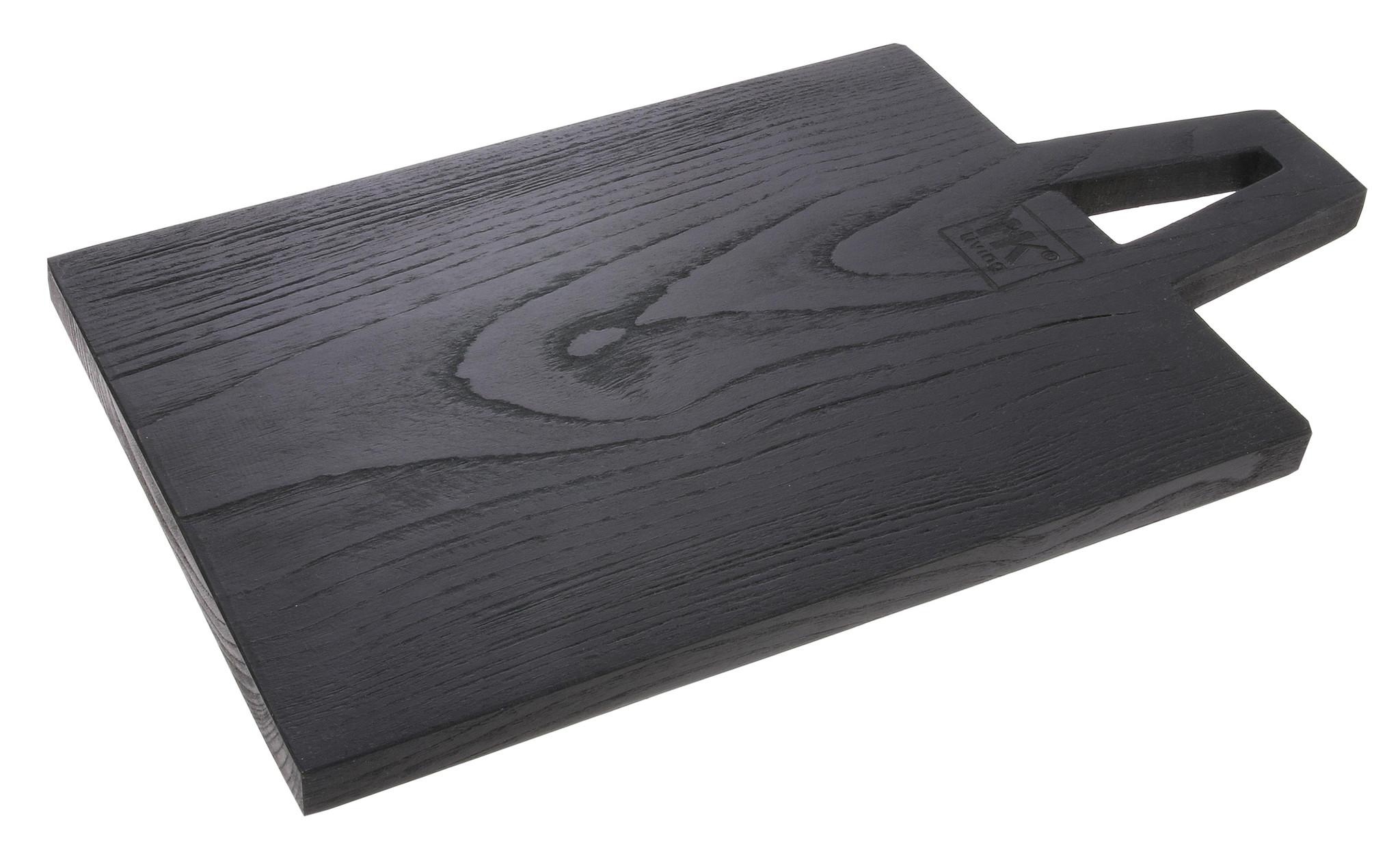 Broodplank Square S 30x17cm Black-3