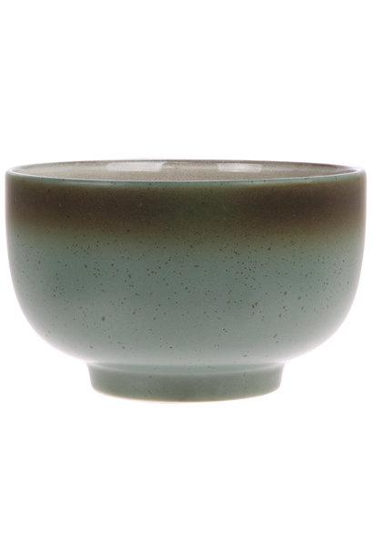 Kom ceramic 70's moon
