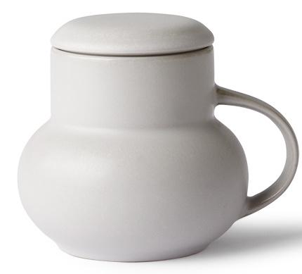 Mok ceramic bubble tea mug M light grey-1