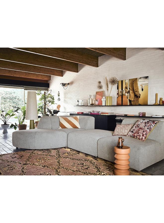 Bank jax couch: element right corner, sneak, light grey