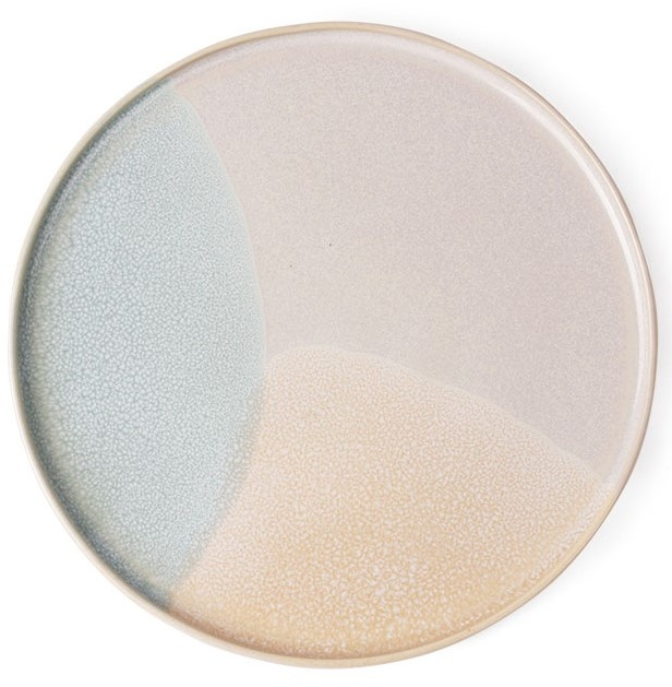 Bord gallery ceramics: round side plate mint/nude-1