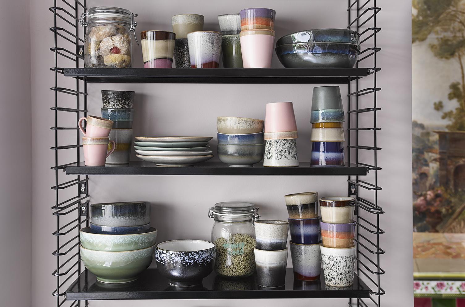 Kom ceramic 70's pasta bowl galaxy-2